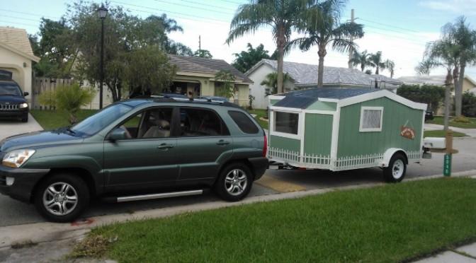tiny house cargo trailer pull