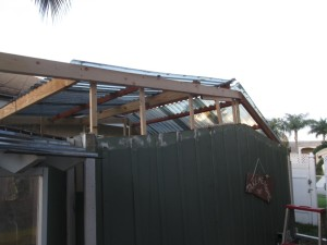 Reframe the roofline to be taller